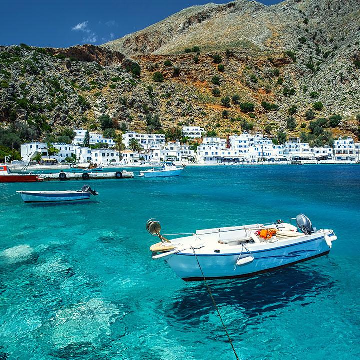 Wyspy greckie – mapki i przydatne wskazówki