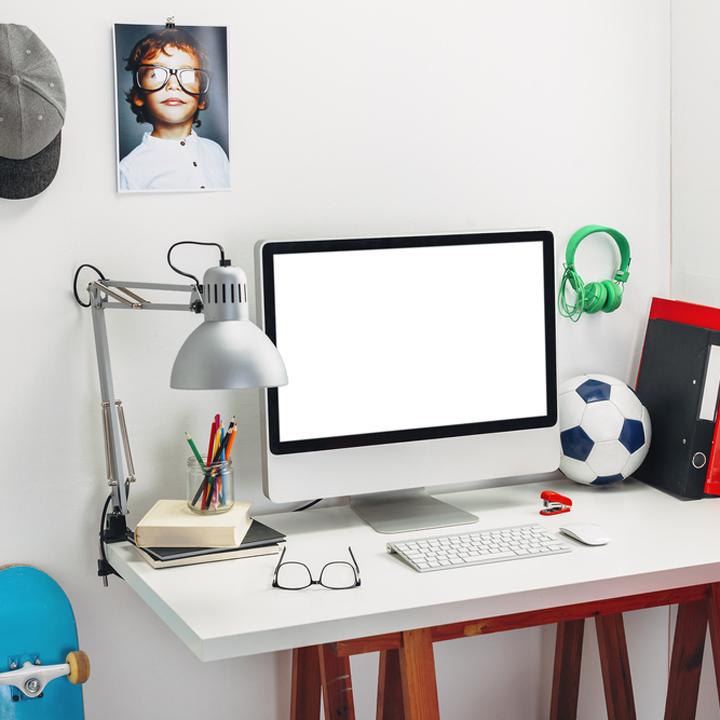 3 pomysły na pokój dla ucznia: kącik do nauki i strefa relaksu