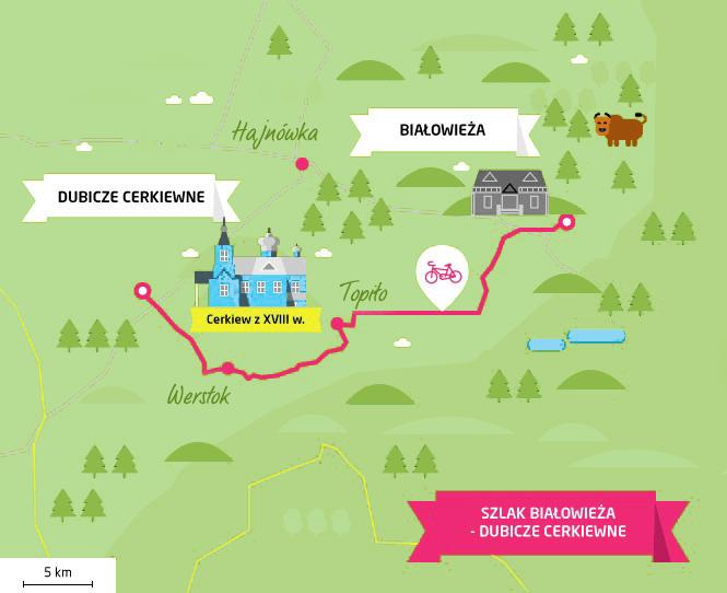 szlak białowieża-dublicze cerkiewne