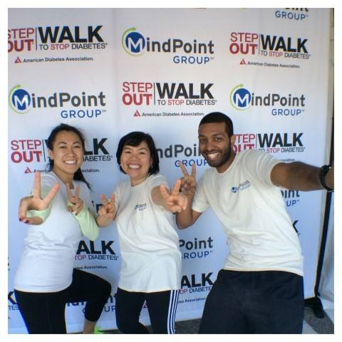 MindPoint Group Volunteers after a charity walk