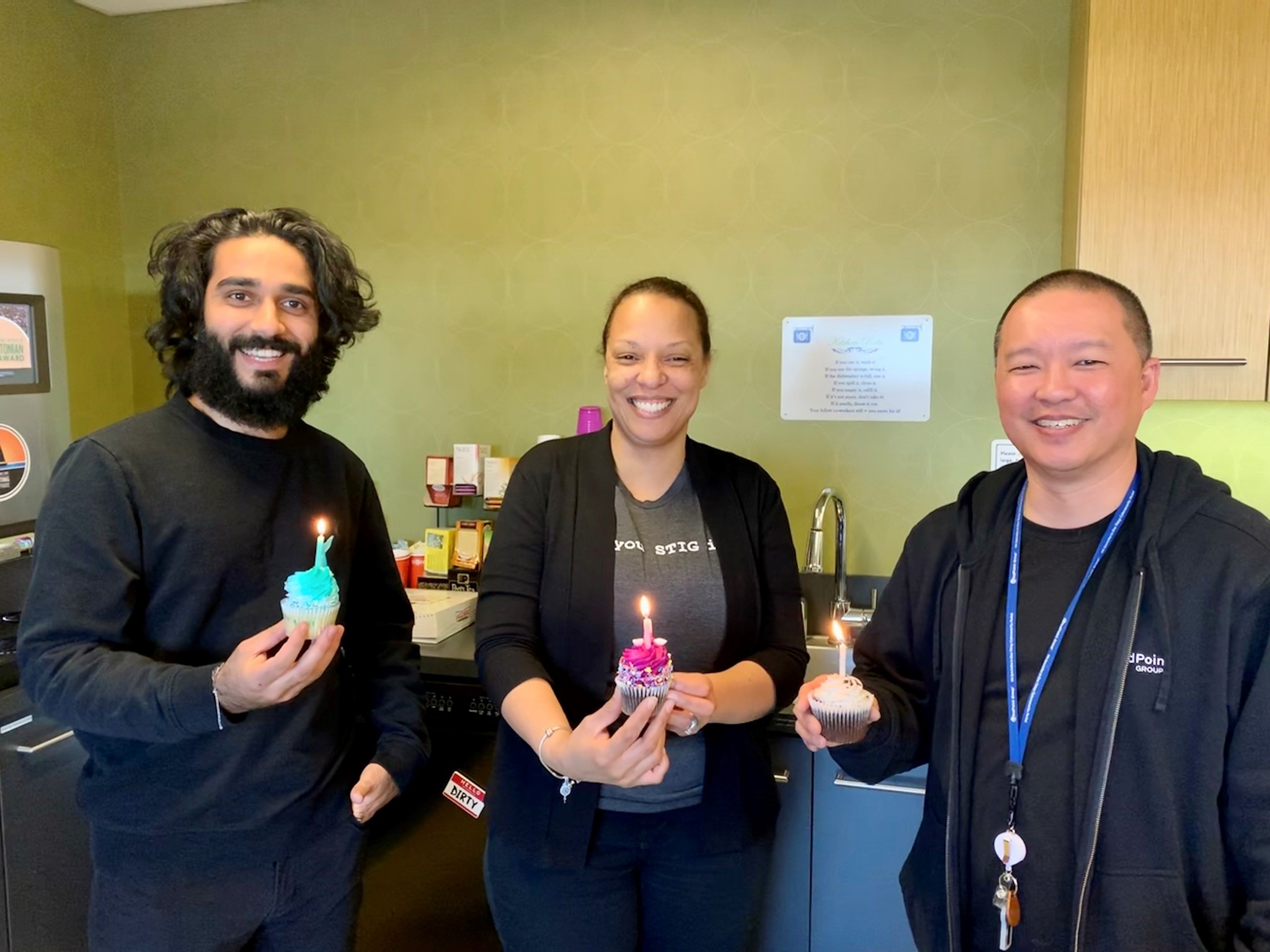 MPG Employees celebrate their birthdays