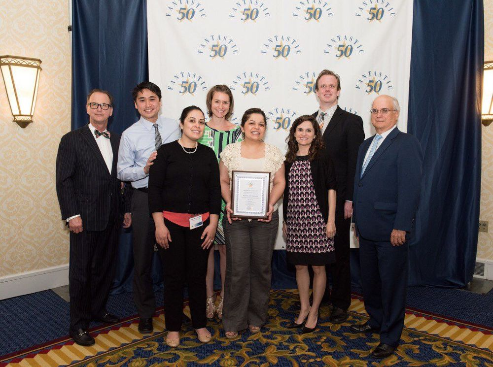 MindPoint Group accepts an award