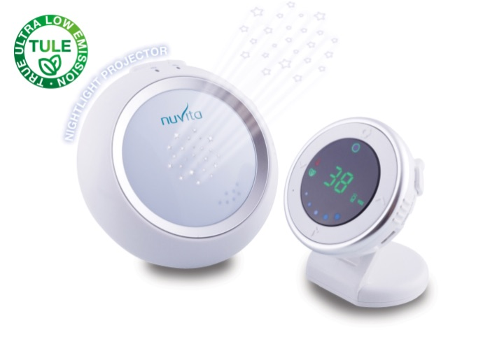 Audio Baby Monitor digitale a basse emissioni con proiettore luce notturna - Starry 3015
