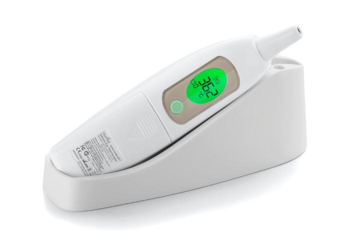 Termometro digitale auricolare a raggi infrarossi - 2071