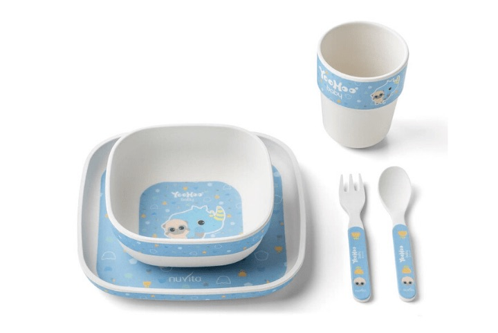 Set pappa in bamboo 12m+ - Yoohoo 55046