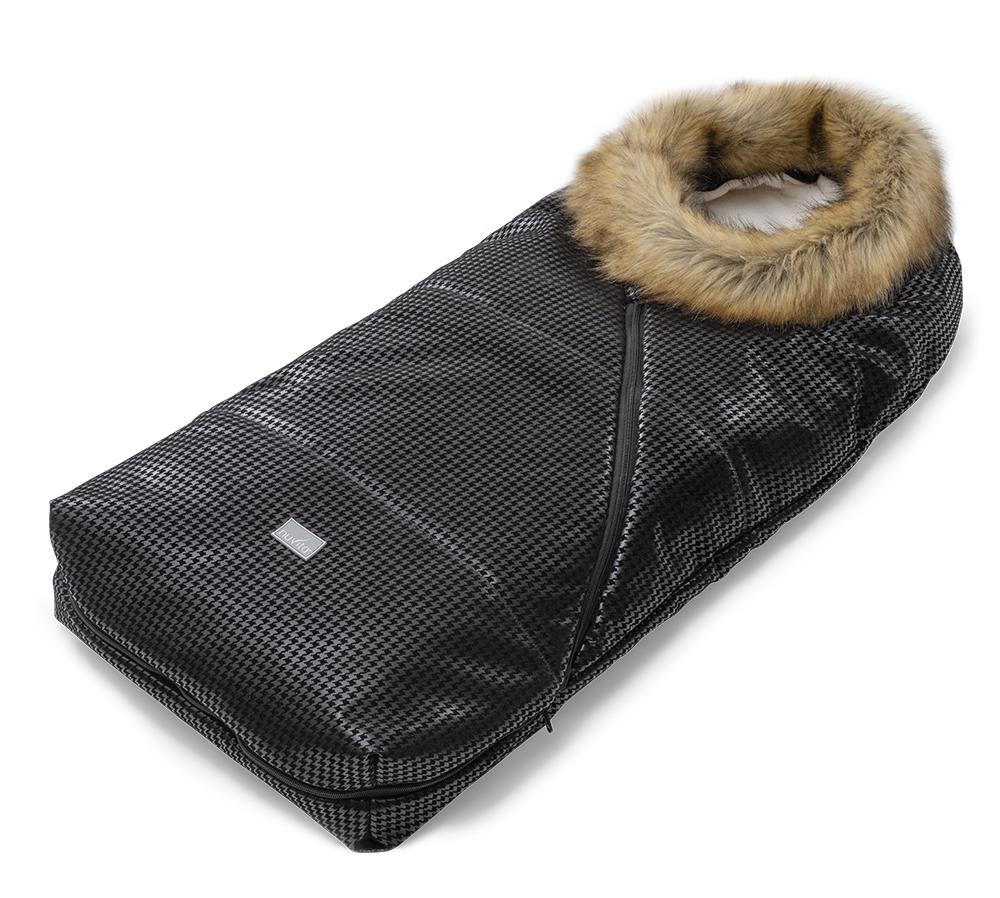 Sacco universale per passeggino con collo in pelliccia ecologica - Junior Pop 9636