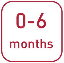 Da 0 a 6 mesi