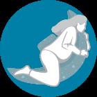 Il supporto per la schiena ti aiuta a restare sul fianco sinistro durante il sonno - la posizione per dormire raccomandata dagli specialisti