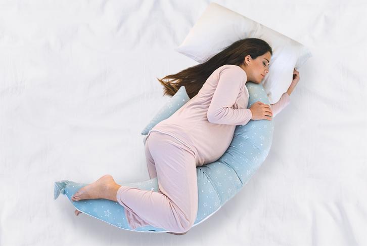 Cuscino gravidanza ed allattamento primi mesi 12-in-1 Dreamwizard 7100
