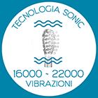 Tecnologia Sonic® - Super delicato e 5 volte più efficace rispetto allo spazzolino manuale