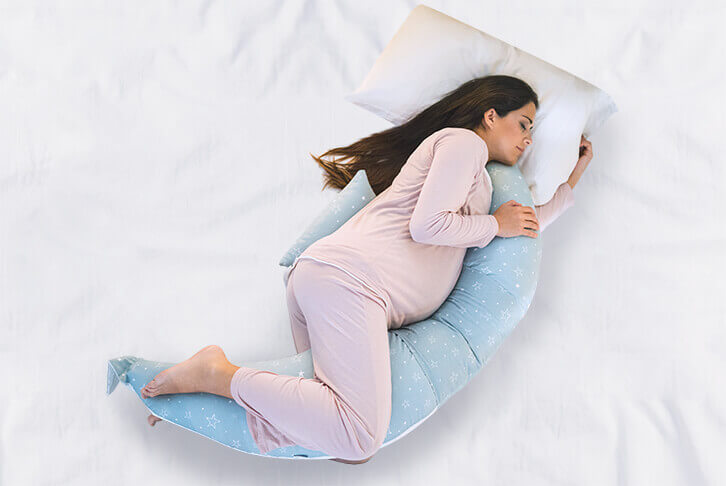 cuscino gravidanza per dormire