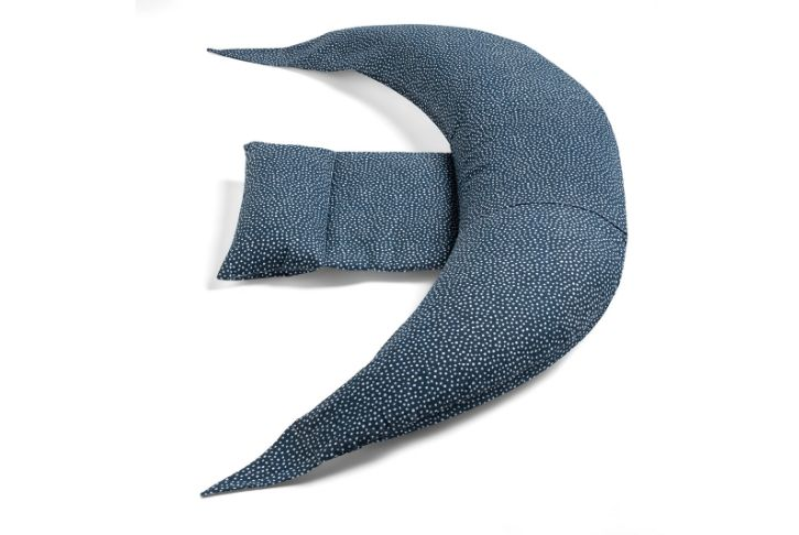 Cuscino gravidanza blu