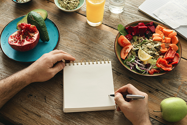 Eating healthy in a fast-paced world