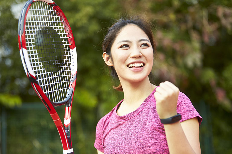 Tennis serves up fun for all