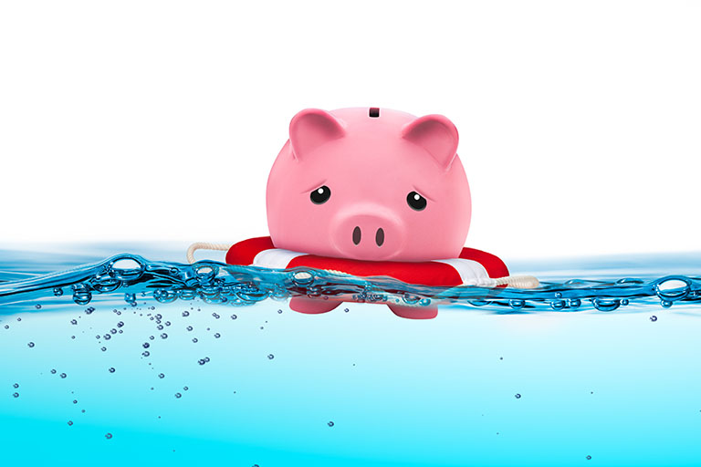 Let sinking funds do the heavy lifting