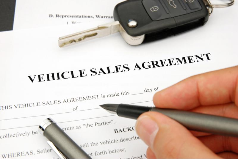 Even though it might be several pages long, be sure to read the entire auto loan contact before you sign it.