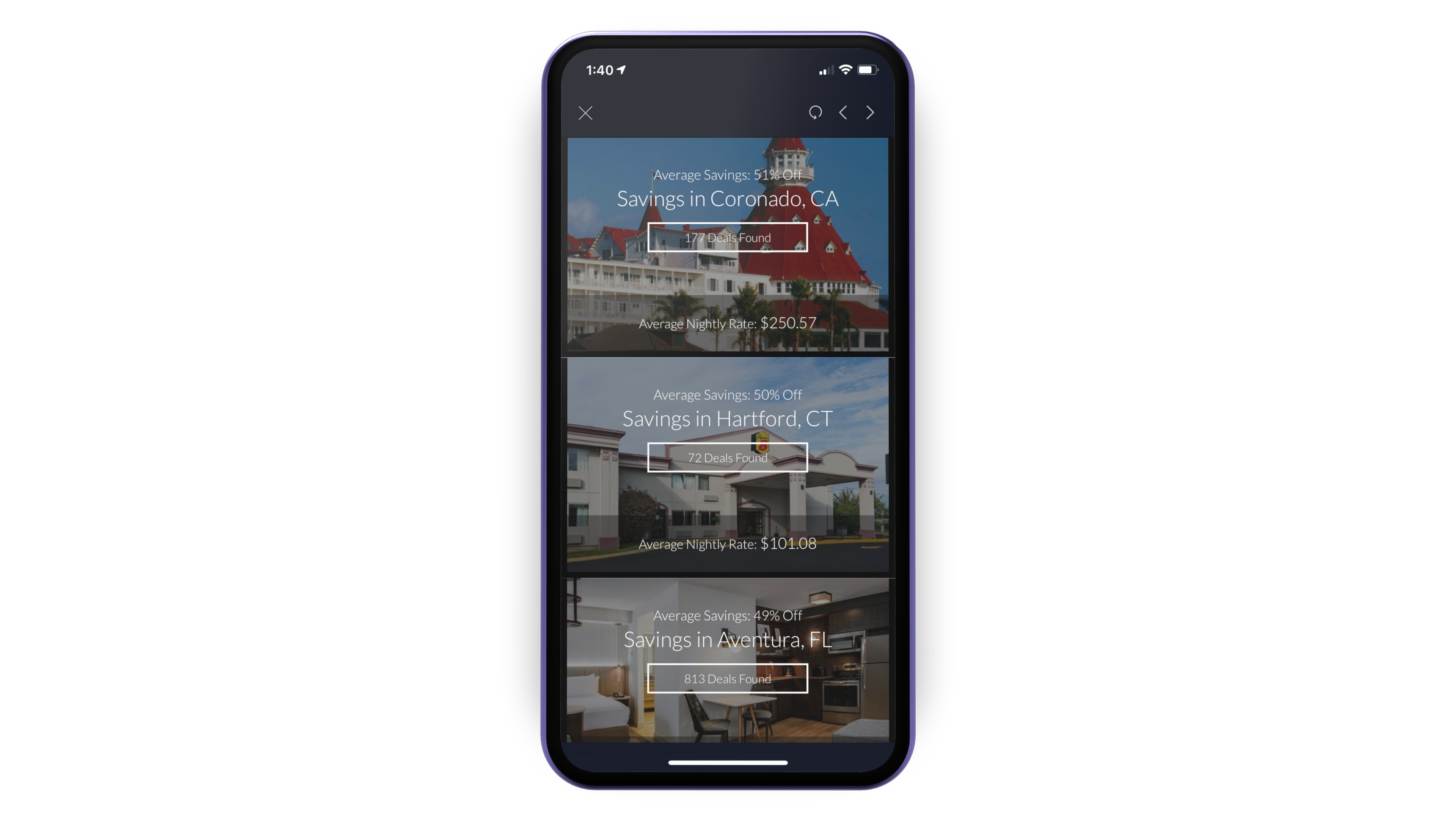 iphone with travel deals