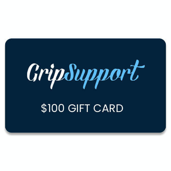 $100 Giftcard to GripSupport