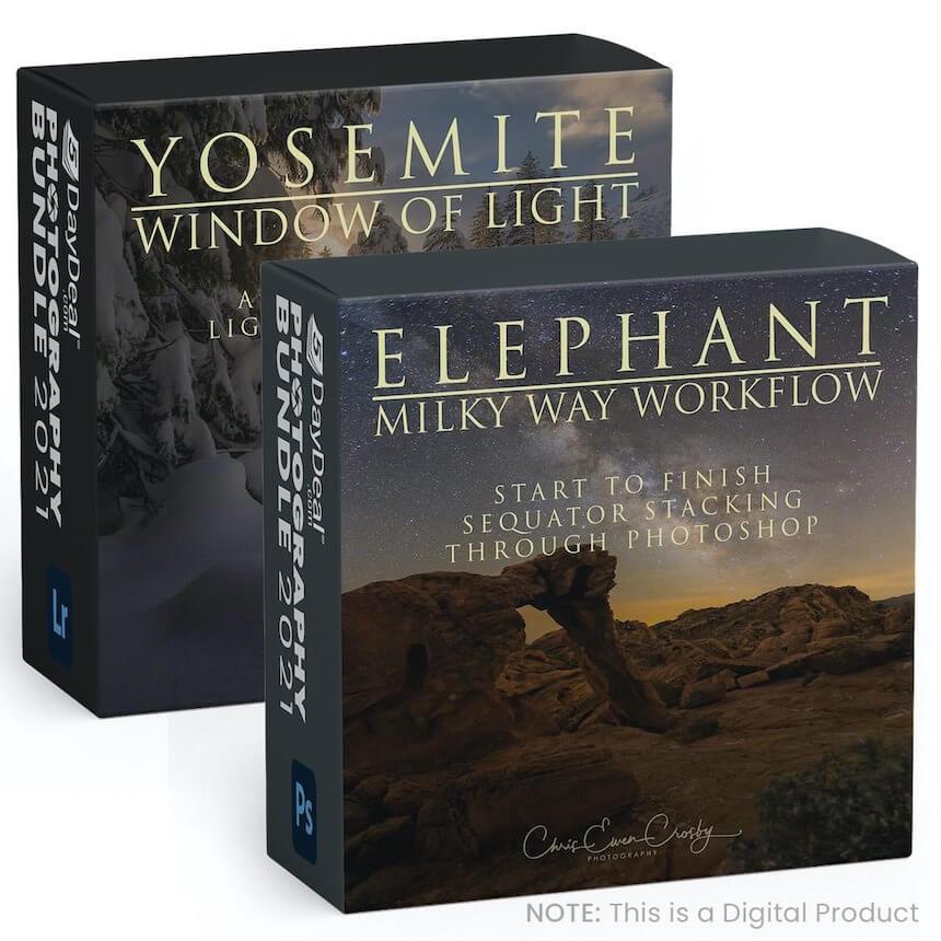 Elephant Milky Way & Yosemite Window of Light Tutorials