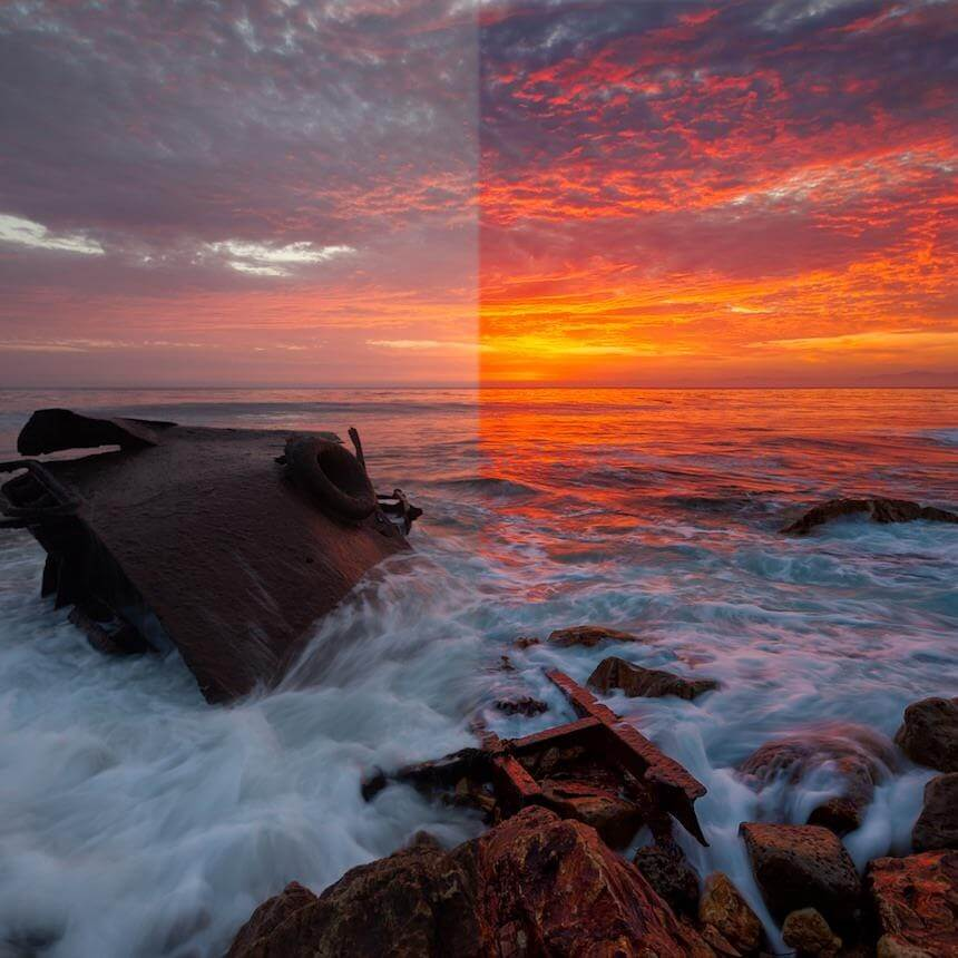 Photoshop Sunset Workflow