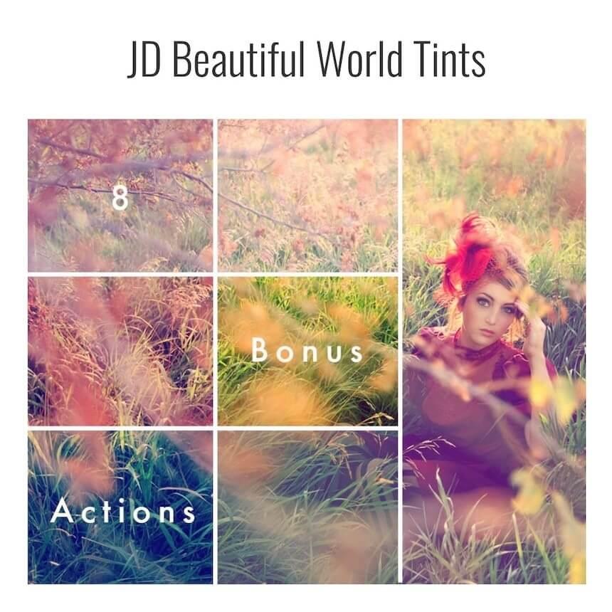 JD Beautiful World Tints