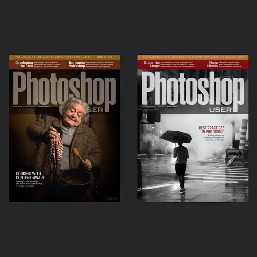 Photoshop User Magazine - 6 Issues