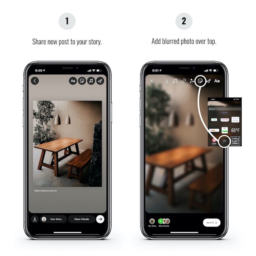 New Post IG Story Template