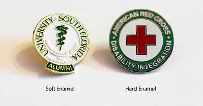 Which is Better: Soft Enamel vs. Hard Enamel? | Custom Pins Now