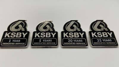 What Are Anniversary Lapel Pins?