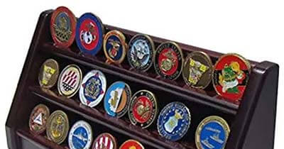 Display Case for Challenge Coins | Custom Pins Now
