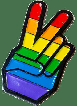 hand-peace-sign-rainbow-colors-soft-enamel-pin