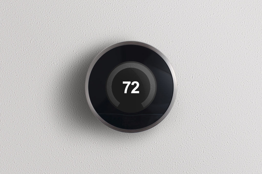 An image of one of the best smart thermostats