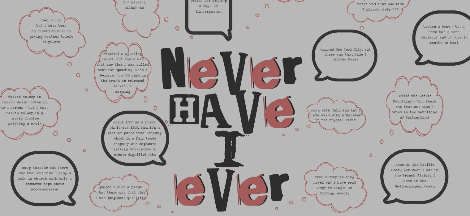 Never have I ever (Image; Trebound)