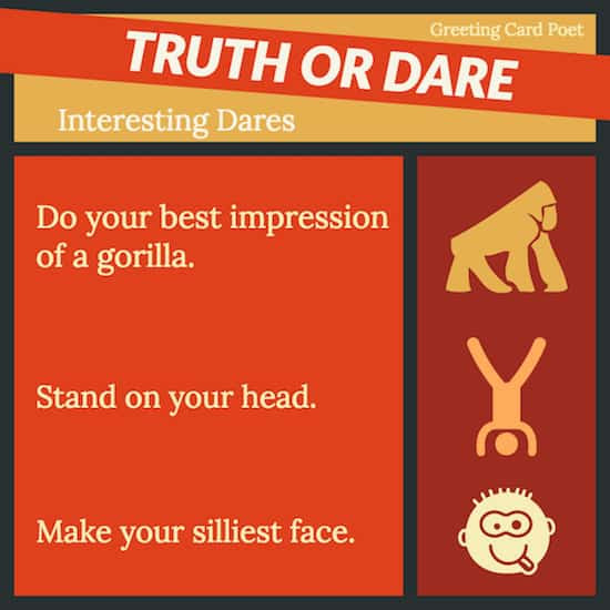 Interesting dares