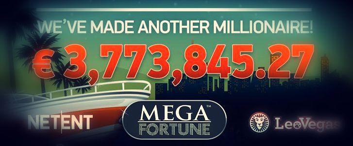 Ruotsalaispelaajalle 3,7 miljoonan jackpot Mega Fortunesta