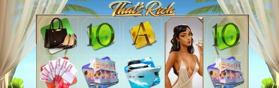 That's Rich kolikkopeli – Pelaa ilmaiskierrokset, RTP 96,27