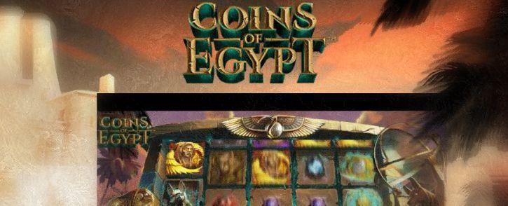 Pelaa Coins of Egypt kolikkopeliä - Nauti ilmaiskierroksista