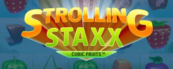 Pelaa Strolling Staxx Cubic Fruits kolikkopeliä - RTP 95,95%