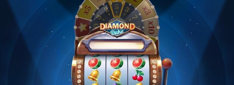 Diamond Duke kolikkopeli - kertoimilla voittoon - RTP 96,23%