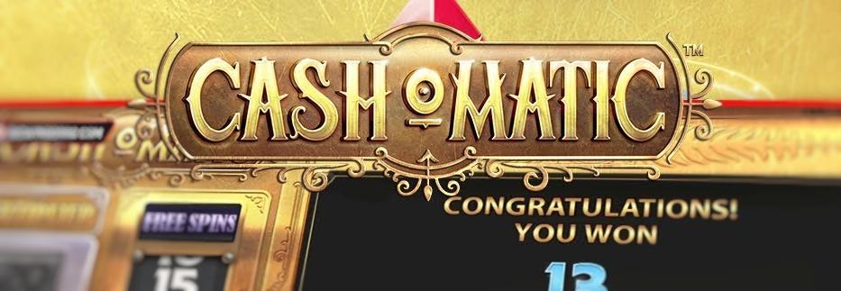 Cash-O-Matic Slot – uusi kolikkopeli NetEntiltä on täällä!