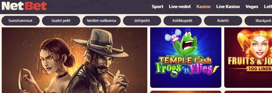 NetBet Casino - €200 bonus & 10 ilmaiskierrosta, pelaa nyt!
