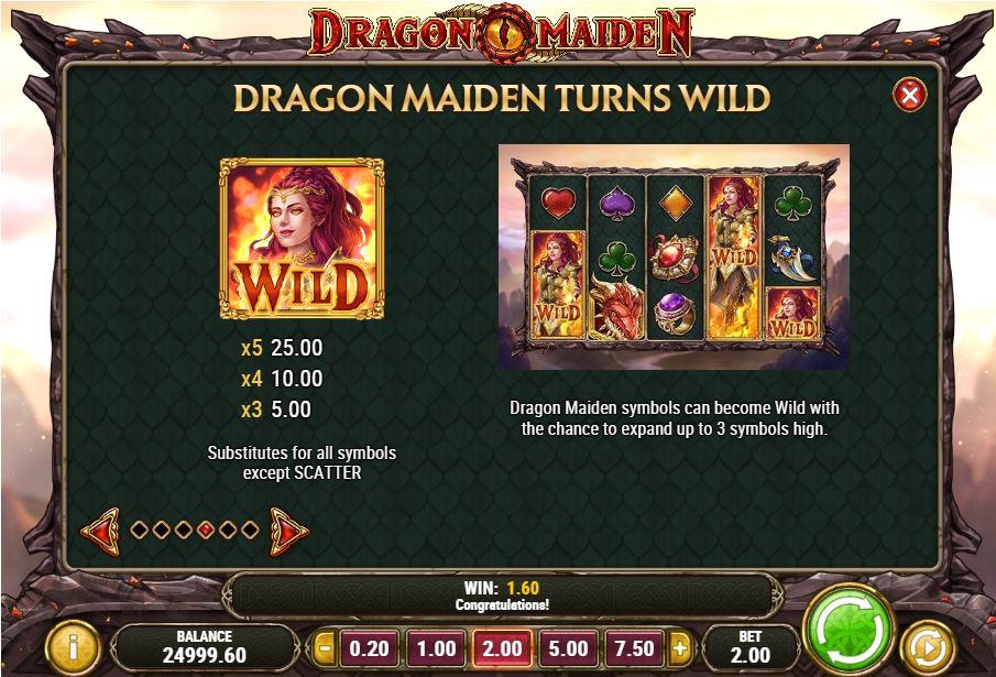 Dragon Maiden -kolikkopeli
