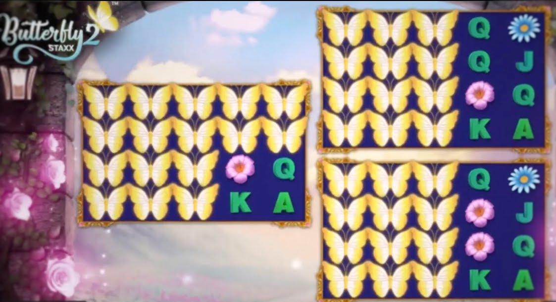 Butterfly Staxx 2 ilmaiskierrokset
