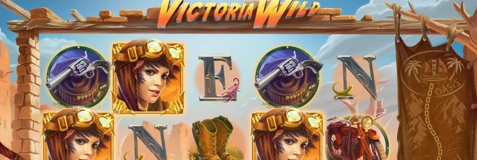 Hiekkamyrskyjen keskelle Victoria Wild Slot -kolikkopelissä