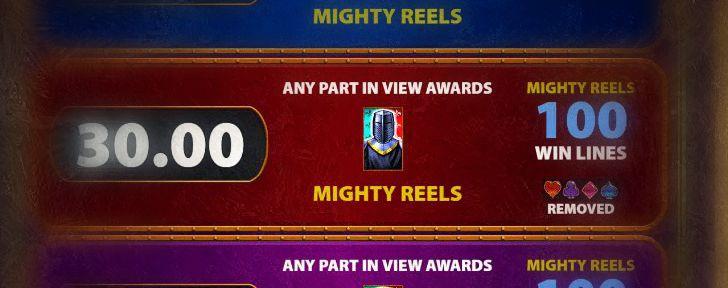 Mighty Black Knight kolikkopeli - Huikeita ilmaiskierroksia
