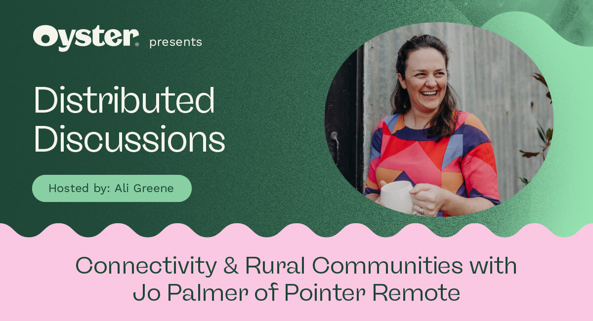 Distributed Discussions episode 3: Connectivity and rural communities with Jo Palmer