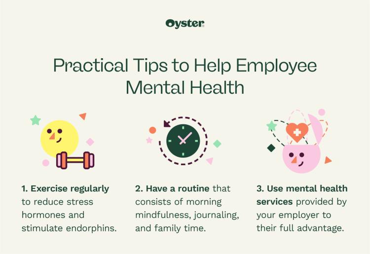 Practical tips to help employee mental health