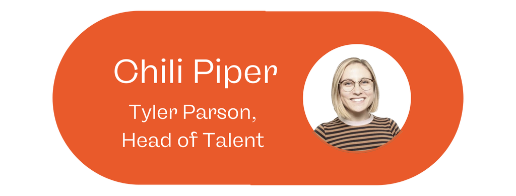 Tyler Parson, Head of Talent, Chili Piper