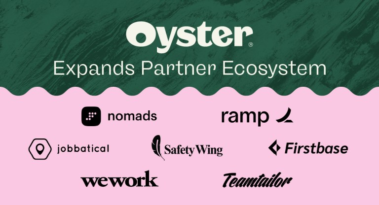 Oyster teams up with industry-leading HR service providers