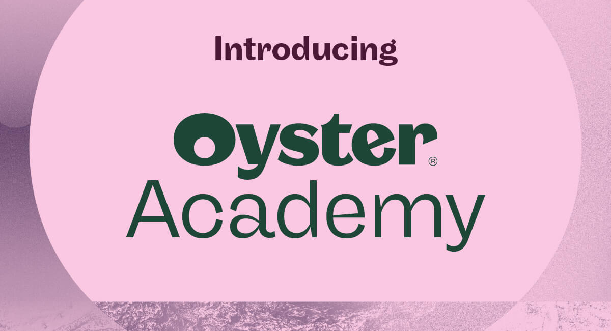 Introducing Oyster Academy